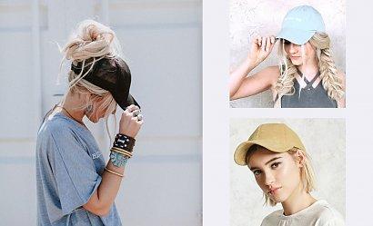 Fryzury do czapki z daszkiem - najnowsze połączenia na sezon wiosna-lato 2021
