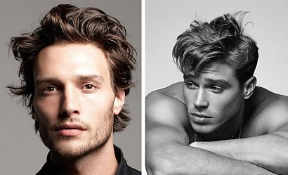 Męskie fryzury - jak układać? Trendy na sezon wiosna-lato 2021
