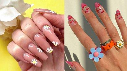 Cherrynails a może flowersnails? Najmodniejsze wzorki na paznokcie - wiosna 2021!