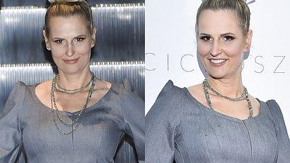 Dominika Tajner zaliczyła wpadkę? Jej sukienka i fryzura nie wszystkim przypadły do gustu. Hit czy kit?