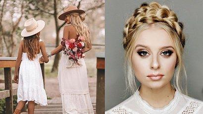 Stylowe fryzury - idealne do wiosennych sukienek! Boho a może ponadczasowa elegancja?