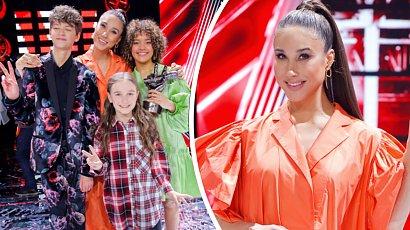 """Ida Nowakowska w obszernej kreacji na finale """"The Voice Kids 4""""! Poród zbliża się wielkimi krokami!"""