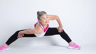 Takimika - najstarsza instruktorka fitness na świecie!