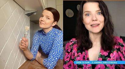 Joanna Jabłczyńska pokazała swoje mieszkanie w stylu PRL i retro! Sama je wyremontowała