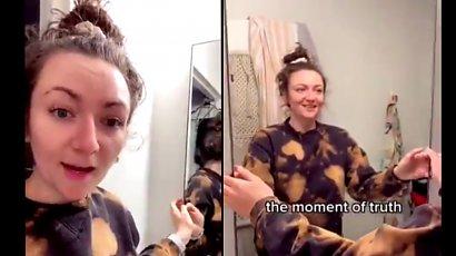 Wynajęła mieszkanie i dokonała niesamowitego odkrycia! Lustro w łazience skrywało tajemnicę!