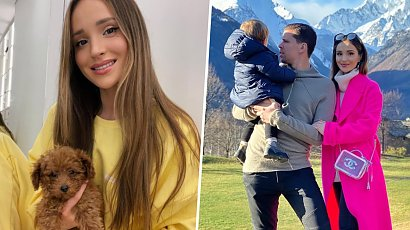 """Marina Łuczenko pokazała synka! """"Ale Liam ma genialne te włoski, sama słodycz"""" - zachwycają się fani"""