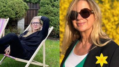 """Marzena Rogalska w mega krótkich włosach: """"No szał, taka drapieżna opcja"""". Wygląda o 15 lat młodziej!"""