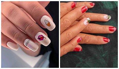 Naklejki na paznokciach. Manicure z pomysłem, czyli wodne naklejki na paznokcie