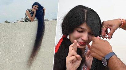 Miała jedne z najdłuższych włosów na świecie i... ścięła je na krótko! Wygląda pięknie!