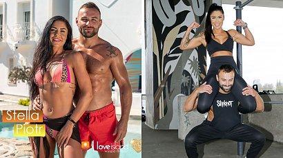 """Stella i Piotr z """"Love Island"""" wyciskają siódme poty na siłowni nad Wisłą! Czy są dalej razem?"""