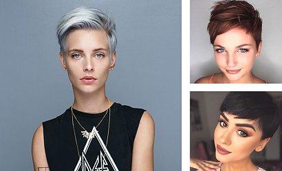 Fryzura pixie w najmodniejszych koloryzacjach - coś dla blondynek, szatynek i brunetek