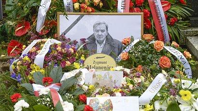 Pogrzeb Zygmunta Malanowicza. Gwiazdy żegnają wybitnego aktora
