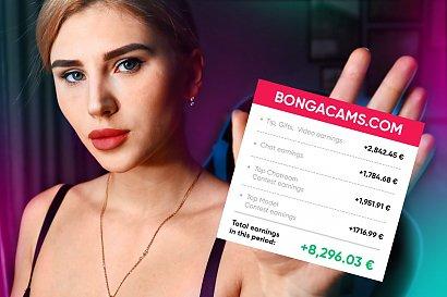 Jak dużo one zarabiają na kamerkach: dziewczyna z Warszawy uchyla rąbka tajemnicy na temat rzeczywistej wielkości jej zarobku na Bongacams