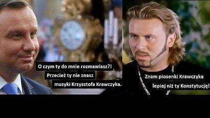 Powstają memy o kondolencjach Andrzeja Dudy po śmierci Krzysztofa Krawczyka