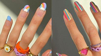 Jak tej wiosny ozdobić swoje paznokcie? Tęcza a może szachownica? Postaw na najmodniejszy manicure!