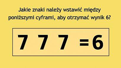 Banalna zagadka, na której poległo wielu internautów. Potrafisz rozwiązać ten matematyczny problem?