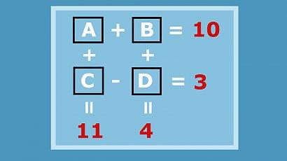 Jakie cyfry kryją się pod literami? Mało kto zna odpowiedź na to pytanie! A Ty?