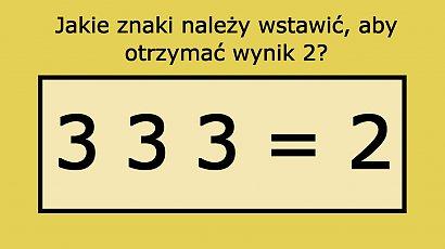 Pozornie prosta zagadka matematyczna przerosła internautów. Potrafisz ją rozwiązać?
