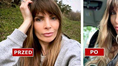 """Agnieszka Dygant zmieniła kolor włosów? """"Ale blondyna! Cudownie i młodo"""" - chwalą fani. Pasuje jej blond?"""
