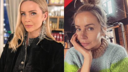 """Agnieszka Woźniak Starak na nowym zdjęciu: """"Wyglądasz jakoś inaczej. Całkiem inna twarz. Zakochana?"""" - pytają fani"""