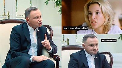 Andrzej Duda udzielił wywiadu o byciu prezydentem RP! Internet zalały memy!
