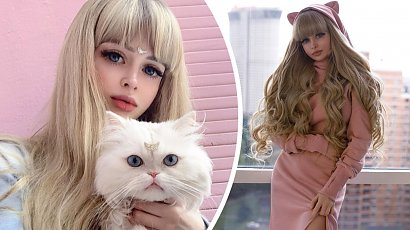 """Rodzice postanowili, że ich córka zostanie """"żywą lalką Barbie""""! Angelica Kenova robi furorę w sieci!"""