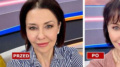 Anna Popek zmieniła fryzurę! Dziennikarka zafundowała sobie grzywkę! Do twarzy jej w nowej odsłonie?