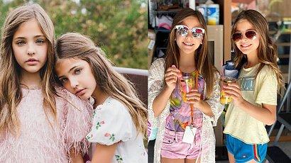Najpiękniejsze bliźniaczki na świecie: 11-latki przeżywały chwile grozy!