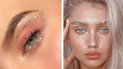 Brokat - makijażowy super trend! Dowiedz się jak go aplikować