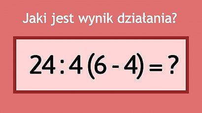 Matematyczne zadanie robi furorę w sieci! Z pozoru proste, lecz nie każdy potrafi je rozwiązać!