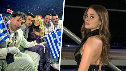 Została okrzyknięta najpiękniejszą artystką Eurowizji 2021! Kim jest Stefania, reprezentantka Grecji?