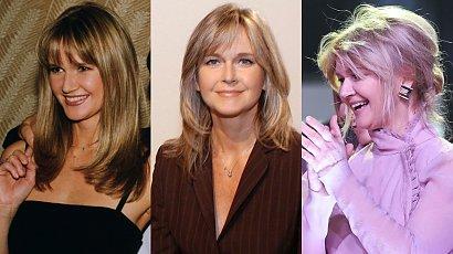 Grażyna Torbicka kończy dziś 62 lata! Przypominamy jej fryzury. Nie tylko miodowy blond i grzywka curtain bang [STARE ZDJĘCIA]