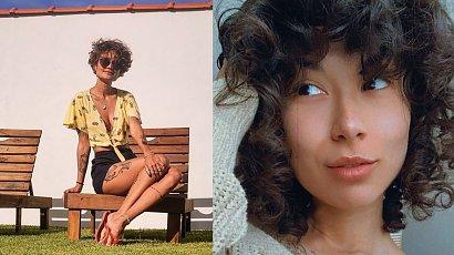 Curly fringe i lata 70. - postaw na grzywkę w kręconej wersji - to prawdziwy hit!