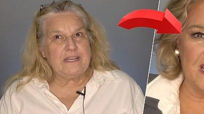 Long bob i maślany blond zmieniły 66-latkę nie do poznania. Znów chce randkować!