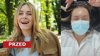 Magdalena Lamparska odświeżyła fryzurę! Ma cieniowanego long boba w kolorze miodowy blond