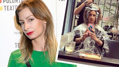Magdalena Schejbal już tak nie wygląda! Nowy kolor włosów i grzywka curtain bangs zupełnie ją odmieniły!