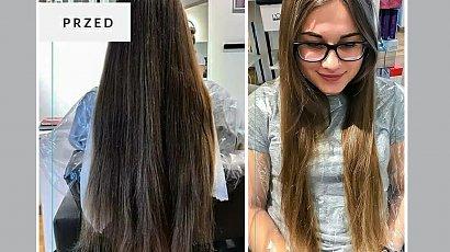 Postanowiła zmienić fryzurę z okazji urodzin! Long bob i blond refleksy totalnie ją odmieniły! SZOK!