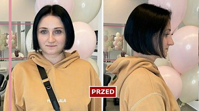 Chciała odmienić swój wizerunek i poddała się metamorfozie! Nowa fryzura odjęła jej 10 lat! WOW!