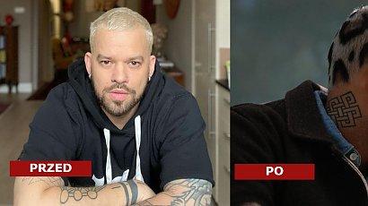 Michał Piróg przefarbował włosy na platynowy blond i namalował na nich lamparcie cętki! Fani podzieleni: Fryzura sztos VS straszne