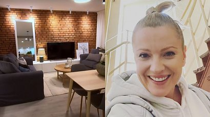 Dorota Szelągowska pokazała, jak wyremontowała mieszkanie w stylu industrialnym! Cegła na ścianie to sztos!