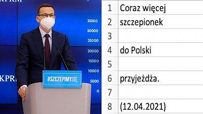 """Fanpage """"Wiersze Mateusza Morawieckiego pisane w Excelu"""" jest hitem w sieci! Sprawdź!"""