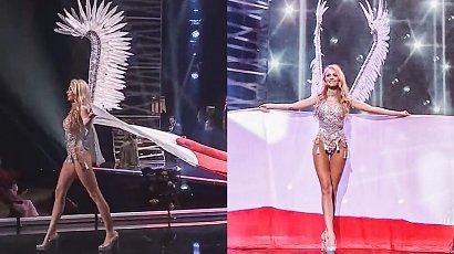 Natalia Piguła na Miss Universe wystąpiła w skrzydłach Husarii, gorsecie i z biało-czerwoną flagą. Hit czy kit?