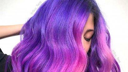 Purple hair - odważna koloryzacja, która zawojowała Instagram