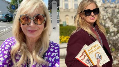 Marzena Rogalska ma tęczowe włosy. Tak wspiera LGBT. Wygląda jak zupełnie inna osoba. SZOK!
