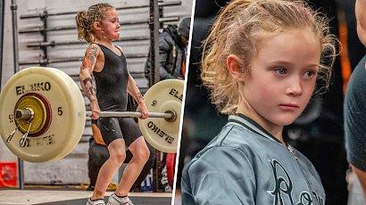 Oto najsilniejsza dziewczynka na świecie! Rory van Ulft ma 8 lat i potrafi podnieść aż 80 kg!