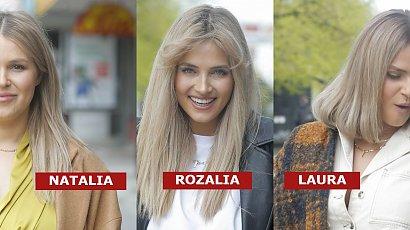 Rozalia Mancewicz pokazała siostry! Jedna ma long boba, druga curtain bang. Wszystkie są blondynkami, ale wyglądają zupełnie inaczej