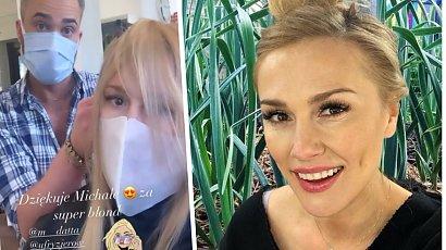 Sylwia Juszczak odwiedziła fryzjera! Żona Mikołaja Krawczyka ma nowy kolor włosów. Jest pięknie!