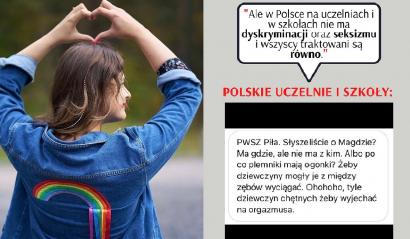 Martyna Kaczmarek demaskuje męski szowinizm. Dyskryminacja kobiet na uczelniach.