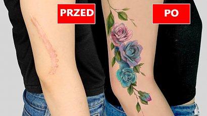 16 przepięknych tatuaży, które zakrywają blizny i niedoskonałości. Małe dzieła sztuki!