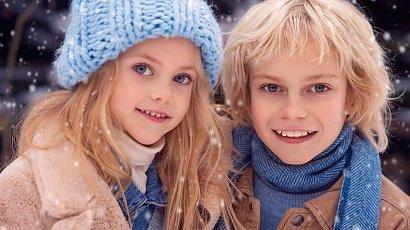 Nazywają ich aniołami! Oto Viola i Dima - najpiękniejsze rodzeństwo świata! A jak wygląda ich mama?